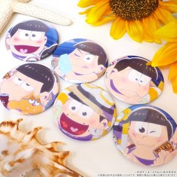 Osomatsu-san Beach Character Badge Collection Box Set