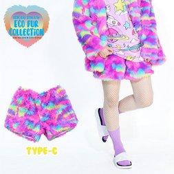 ACDC RAG Fur Shorts C