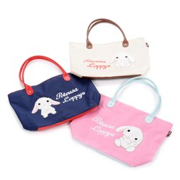 Pote Usa Loppy Fluffy Embroidered Big Tote Bag Collection