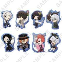Bungo Stray Dogs Fuyu no Tori Clear Clip Badge Box Set