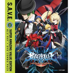 BlazBlue: Alter Memory: The Complete Series S.A.V.E. Blu-ray/DVD Combo Pack