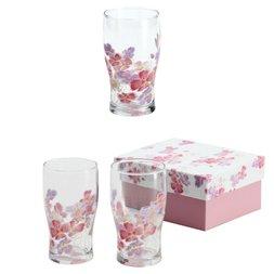 Hana Hitohira Glass Tumbler