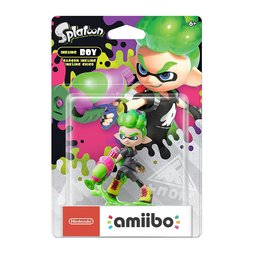 Splatoon Inkling Boy amiibo (Neon Green)