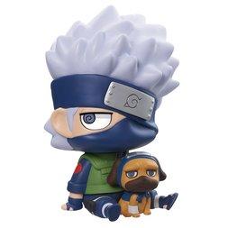 Naruto Kakashi & Packun Soft Vinyl Mascot Figure