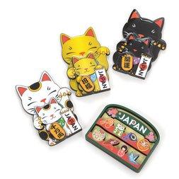 Souvenir Japan Wooden Magnets