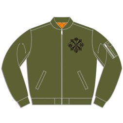 Monster Hunter Khaki Light MA-1 Jacket
