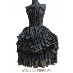 Atelier Pierrot Jacquard Corset Dress