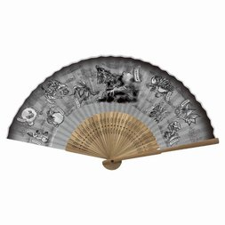 Monster Hunter: World Japanese-style Folding Fan