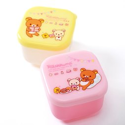 Rilakkuma Mini Lunch Box Set