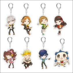 Persona 4: Dancing All Night Chibi Acrylic Keychain Collection