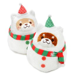Chuken Mochi Shiba Snowman Plush Collection (Big)