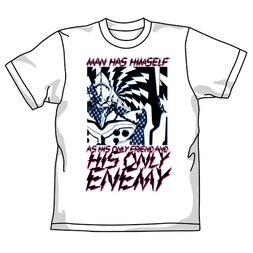 Rebuild of Evangelion Evangelion Unit-01 Enemy White T-Shirt