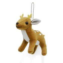 Sika Deer Keychain Plushie