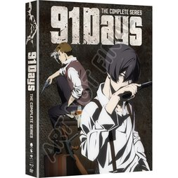 91 Days: The Complete Series Limited Edition Blu-ray/DVD Combo Pack