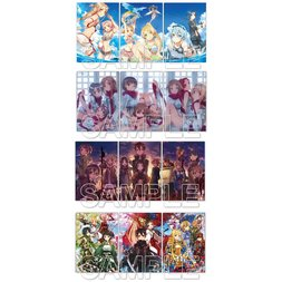 Sword Art Online Abec Clear File Sets