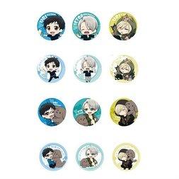 Yuri!!! on Ice Acrylic Character Badge Collection: Makkachin & ED