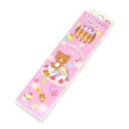 Rilakkuma Go Go School Pencils