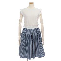 LIZ LISA Knit Top & Stripe Skirt Dress
