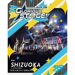 The Idolm@ster: SideM 3rd Live Tour: Glorious St@ge! Side Shizuoka Live Blu-ray (4-Disc Set)