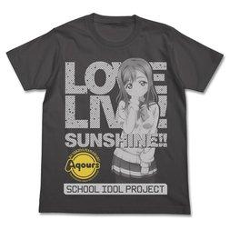 Love Live! Sunshine!! Hanamaru Kunikida Charcoal T-Shirt