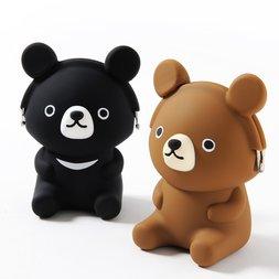 3D Pochi Friends Bear Silicone Pouches