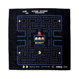 Pac-Man Bandana Wrapping Cloth