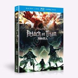 Attack on Titan: Season 2 Blu-ray/DVD Combo Pack