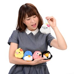 Kotori Tai Vacation Bird Plush Collection (Ball Chain)