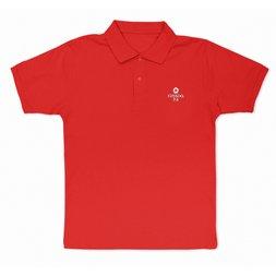 Love Live! Sunshine!! Dia Kurosawa Red Embroidered Polo Shirt