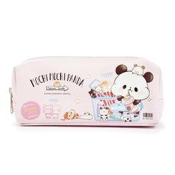Mochi Mochi Panda Mochi Mochi Market Dual Zipper Pen Case