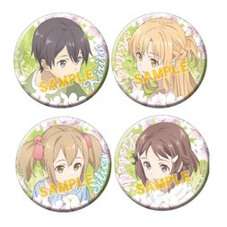 Sword Art Online the Movie: Ordinal Scale Badge Set