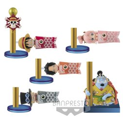 One Piece World Collectable Figure: Carp Streamer