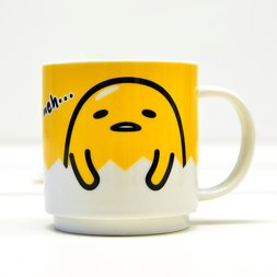 Gudetama Face Stacking Mug