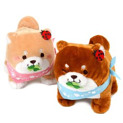 Chuken Mochi Shiba Sharing Happiness Standing Plush Collection (Big)