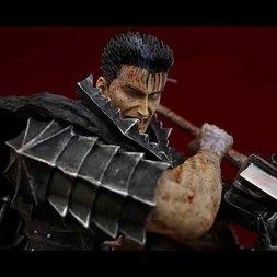 Berserk Guts - The Spinning Cannon Slice 2016 - 1/6 Scale Black Repainted Ver.