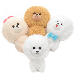 Mofu Mofu Bichon Dog Plush Collection (Standard)