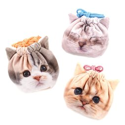 Artlist Collection: The Cat Face Pouch Collection