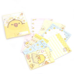Rilakkuma Kiiroitori Diary Letter Sets