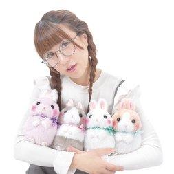 Usa Dama-chan Standing Up Rabbit Plush Collection (Standard)