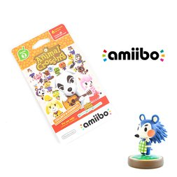 Animal Crossing Mabel amiibo w/ Free Animal Crossing amiibo Cards Series 2 Pack