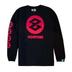 The King of Games Splatoon 2 Black Cuttlegear Long Sleeve T-Shirt