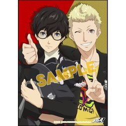 Persona 5 the Animation Portrait Towel