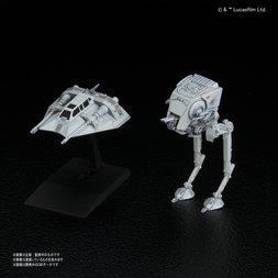 Star Wars 1/144 AT-ST & Snowspeeder