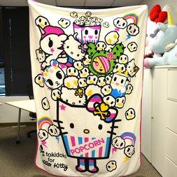 Tokidoki x Hello Kitty Big Throw