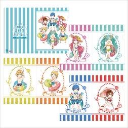 Hatsune Miku Summer Festival A4 Clear File Set: Beach Festival SD Ver.