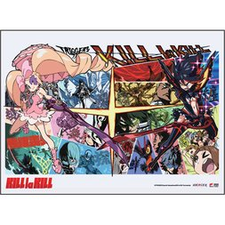 Kill la Kill Ryuko vs Nui Wall Scroll