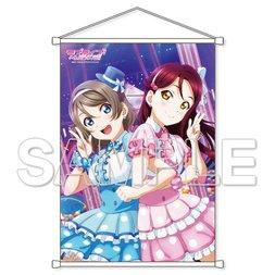 Love Live! Sunshine!! Riko Sakurauchi & You Watanabe B2-size Tapestry