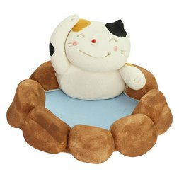 Mino Ware Hot Spring Cat