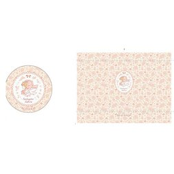 Cardcaptor Sakura Anime Country Flower Pouch & Mirror
