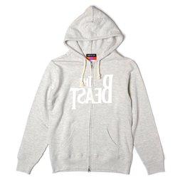 The Beast Zip Hoodie (Oatmeal)